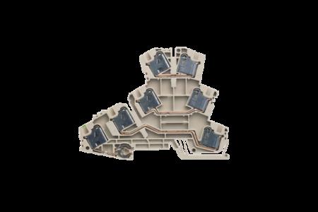 Weidmüller Motoraansluitklemmen PMAK4 (50 Stuks)