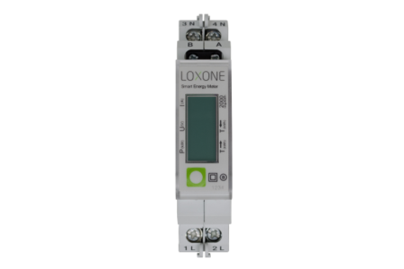 Modbus Energiemeter (Enkelfasig)