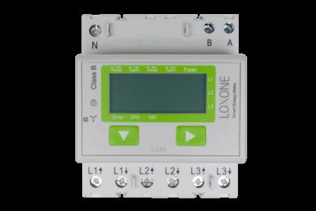 Modbus Energiemeter (Driefasig)